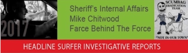 Sheriff Mike Chitywood: Farce Behind the Force / Headline Surfer