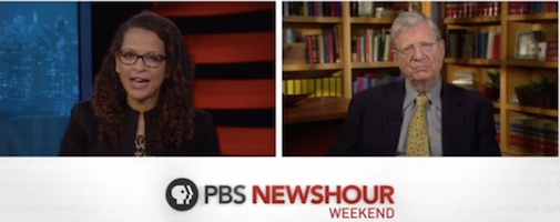 PBS NewsHourr Weekend looks at Trump appointments / Headline Surfer®