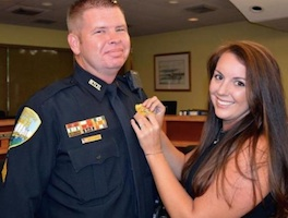 NSBPD Brian Morris promoted to sergeant