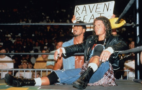Raven, big-time wrestling star / Headline Surfer