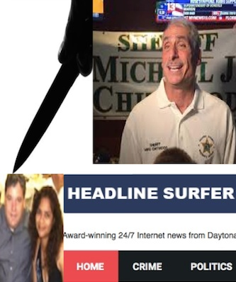 Sheriff Mike Chitwood back stabs headline Surfer®