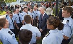 Gov. Scott vists Bartram HS for Patriot Day / Headline Surfer®