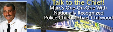 Ask the chief segment on the Marc Bernier Show features Chief Mike Chitwood / Headline Surfer