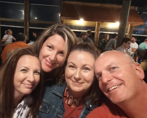 Beth Brymer Bibeault celebrates her birthday with family and friends at Crabby Joe's in Daytona Beach Shores / Headline Surfer