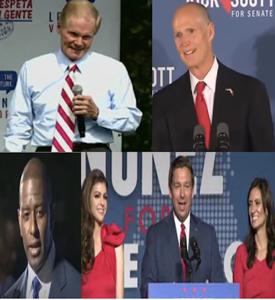 Recounts underway in Florida for US Senator & Governor / Headline Surfer