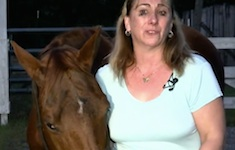 AnnMair Blair of Lake Helen talks about fatal mauling of her mini horse / Headline Surfer®
