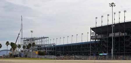 Construction is well underway with the $400 million renovation of Daytona International Speedway / Headline Surfer®