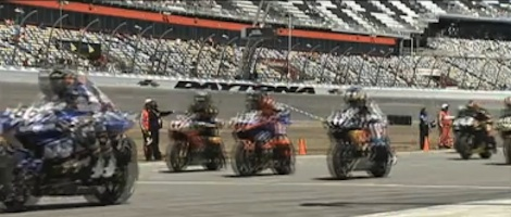 Double fatality biker crash at Daytona International Speedway / Headline Surfer