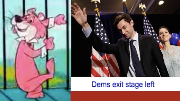 Snagglepuss - Dems exit stage left in Georgia / Headline Surfer
