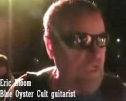 Eric Bloom of Blue Oyster Cult interviewed after concert at Destination Daytona in Ormond Beach, FL for Biketoberfest 2011 / Headline Surfer