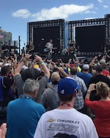 Florida Georgia Line at Daytona 500 / Headline Surfer