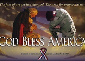 Prayer is a must for candidate Webster Barnaby, a conservative running fore county council at-large / Headliune Surfer®