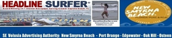 Headline Surfer's Tourism banner for SE Volusia / Headline Surfer