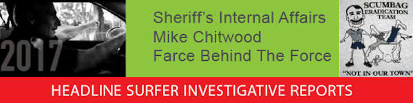 Sheriff Mike Chitwood / Farce Behind the Force / Headline Surfer