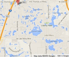 Lake Mary cops utilize Seminole Sheriff's helicopter at night / Headline Surfer®