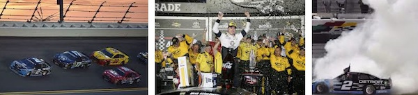 Brad Kezelowski wins the 2016 Coke Zero 400 atDaytona / Headline Surfer