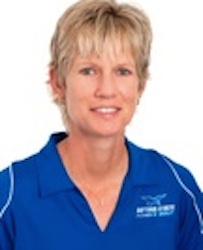 DSC women's golf coach Laura Brown / Headline Surfer