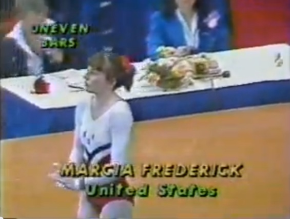 Marcia Frederick, 1978 gold medal gymnast related to internet newspaper publisher Henry Frederick / Headline Surfer