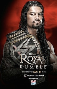 Roman Reigns promo for 2016 Royal Rumble in Orlando,. FL / Headline Surfer®