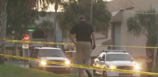 A South Daytona cop walks a neighborhood where a man was gunned down in the street / Headline Surfer