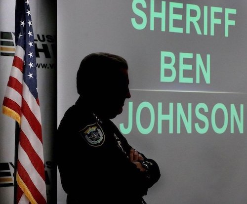 Retired Volusia County Sheriff Ben Johnson now serves on the county council / Headline Surfer