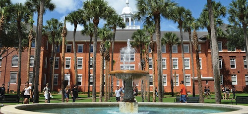 Stetson University in DeLand / Headline surfer