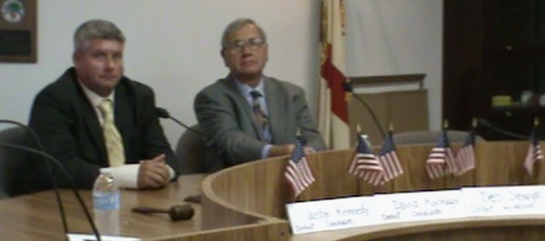 County Council dis 3 candidates Justin Kennedy, David Machuga debate issues, incumbent Deb Denys a no-show / Headline Surfer®