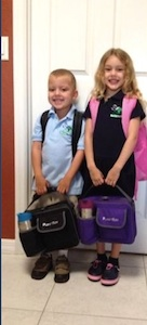 The Catheline children of New Smyrna Beach on the first day of school / Headline Surfer®