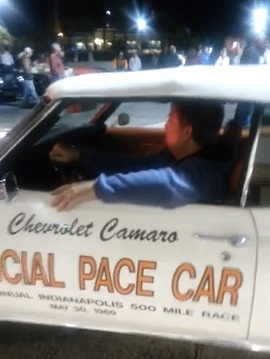 Vintage Indy 500 pace car at Turkey Run in Daytona Beach / Headline Surfer®