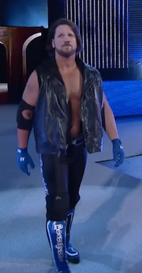 "The 'Phenomenal One"" AJ Styles in the 2016 Royal Rumble in Orlando, FL / Headline Surfer®"