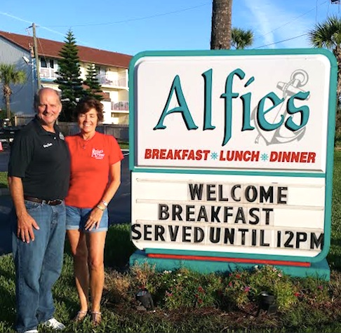 Alfie' in Ormond, Fla / Headline Surfer®