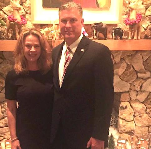 Fla 6th Congressional candidate Adam Barringer with his wife, Shannon / Headline Surfer®