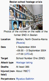 Beslan school crisis / Headline Surfer