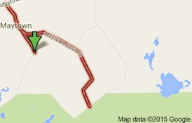 Fatal biker crash locator near Oak Hill, FL / Headline Surfer®