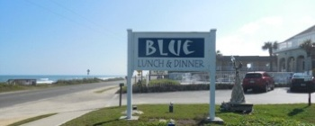 Blue at the Topaz restaurant in Flagler Beach, Fla / Headline Surfer®