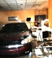 Car inside building in NSB / Headline Surfer®