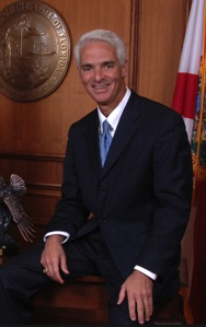 Charlie Crist supports the pot issue in Florida / Headline Surfer®