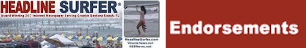 Internet newspaper endorsements: Jake Sachs for New Smyrna Beach City Commission / Headline Surfer®