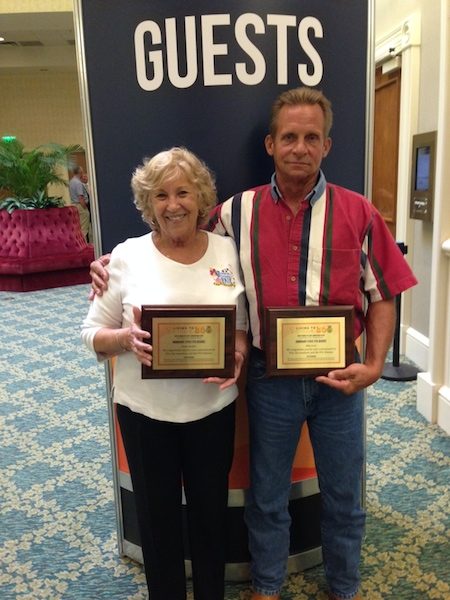 Darla Borders & Billy Jones recognized for 15 years with Volusia County Fair in DeLand / Headline Surfer®