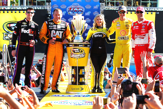 Final four drivers in the Chase for Sunday's Sprint Cup finale at Homstead / Headline Surfer®