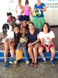 Lisa Gailey of DeBary, FL on Dominican Republic trip with children / Headline Surfer®