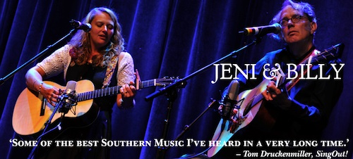 Jeni & Billy folk duo to perform in Oak Hill and Deltona Feb. 8, 9 / Headline Surfer®