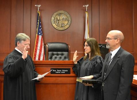 Dawn Nichols Sworn In As Judge For 7th Judicial Circuit