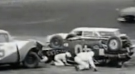 1960 crash at Daytona collected 37 cars in the biggest pile-up to date, but injuries were minor / Headline Surfer