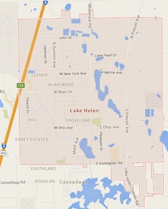 Lake Helen, Fl map / Headline Surfer®