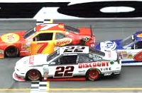 Regan Smith wins the Nationwide race at Daytona in 2014 / Headline Surfer®