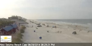 New Smyrna Beach cam / Headline Surfer®
