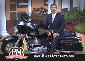 Michael Politis, biker attorney / Headline Surfer®