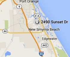 Locator for Rocco Park in New Smyrna Beach / Headline Surfer®