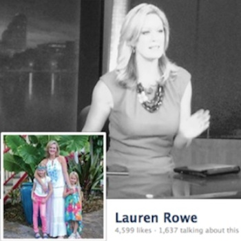 Lauren Rowe leaves the anchor desk at WKMG Channel 6 in Orlando / Headline Surfer®